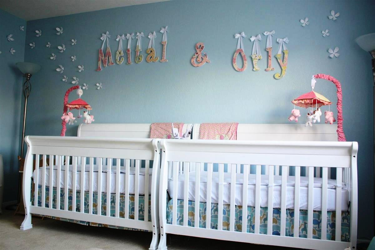 La mejor decoraci n de habitaciones de beb s hoy lowcost for Baby girl crib decoration ideas