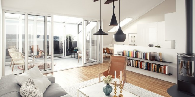Iluminacion decoracion salones hoy lowcost - Decoracion de salones minimalistas ...