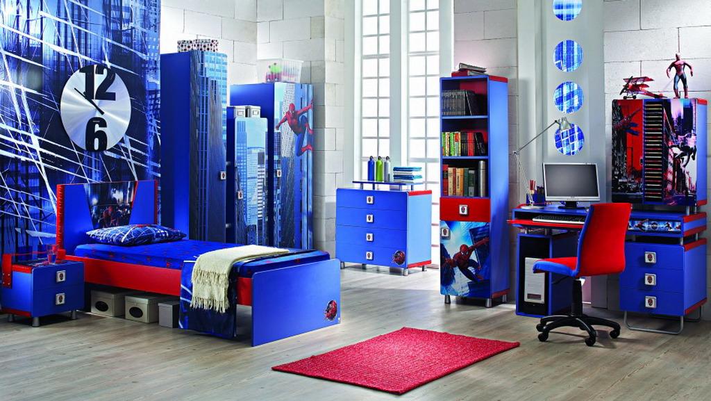 motivos en dormitorios infantiles