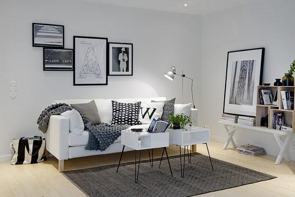 pequeños salones diseño moderno