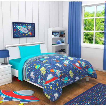 ropa de cama en dormitorios para niños