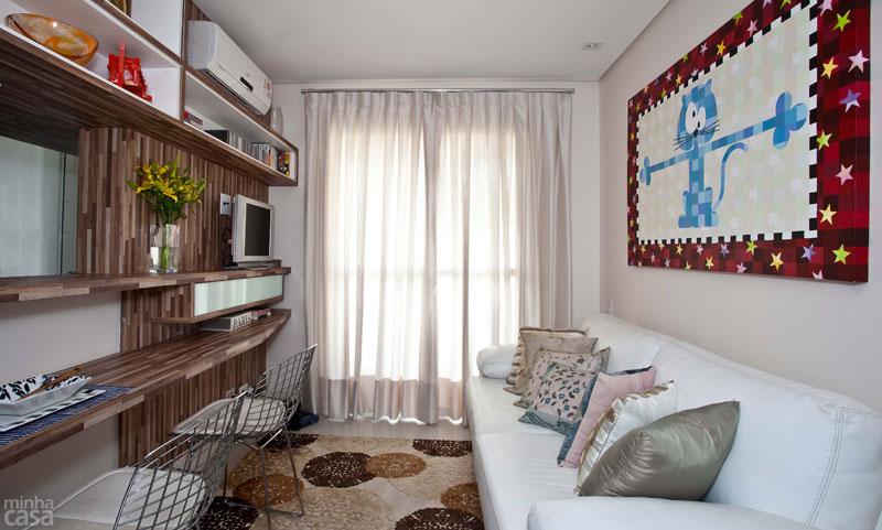 Sala de estar alargada decoracion hoy lowcost - Decoracion sala de estar ...