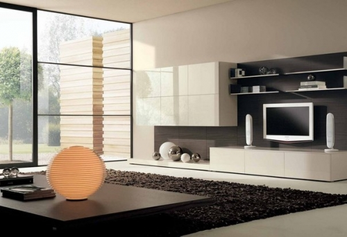 salon ambiente minimalista