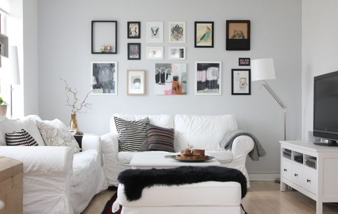 Dise o de salones colores personalizados hoy lowcost Salones modernos y pequenos