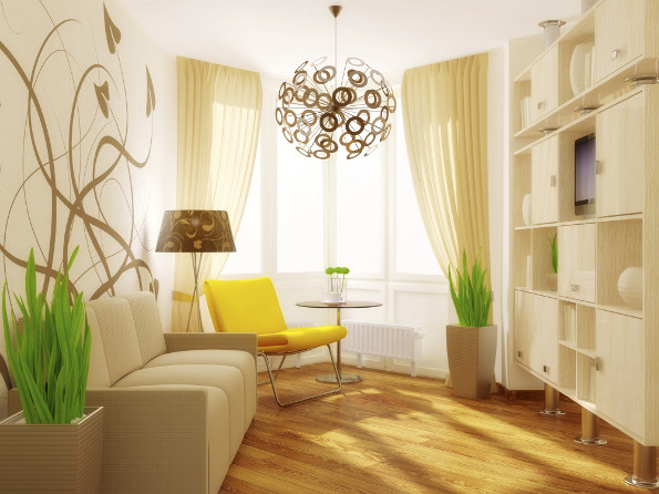 sencillo diseño salon
