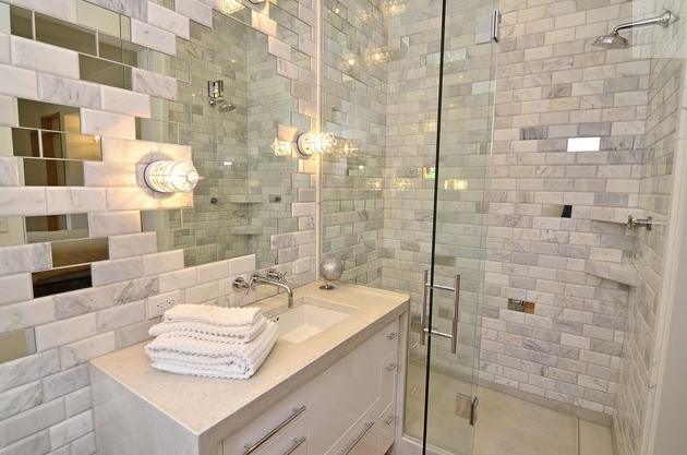 baño moderno lujoso elegante