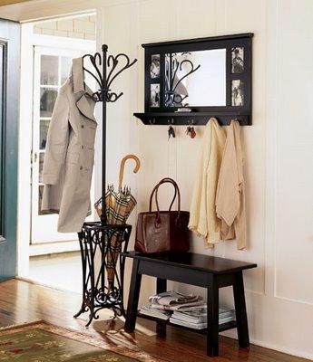 bonito vestibulo decorado
