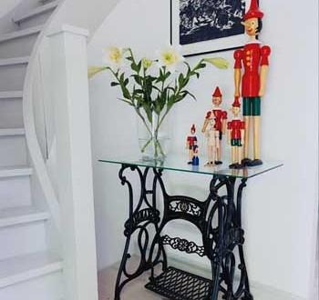 Decoracion hall muebles restaurados hoy lowcost - Como restaurar muebles ...