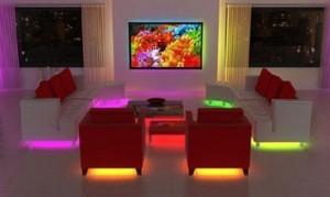 iluminacion estilo lounge