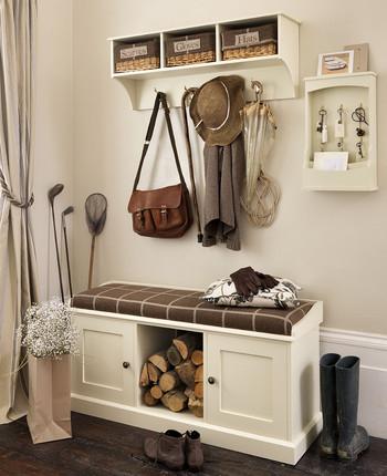 Recibidores modernos ideas para su decoraci n hoy lowcost - Mueble recibidor rustico ...
