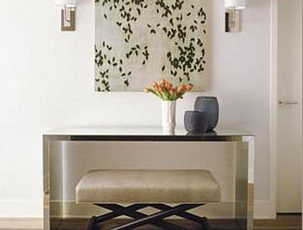 elegante diseño recibidor moderno | Hoy LowCost