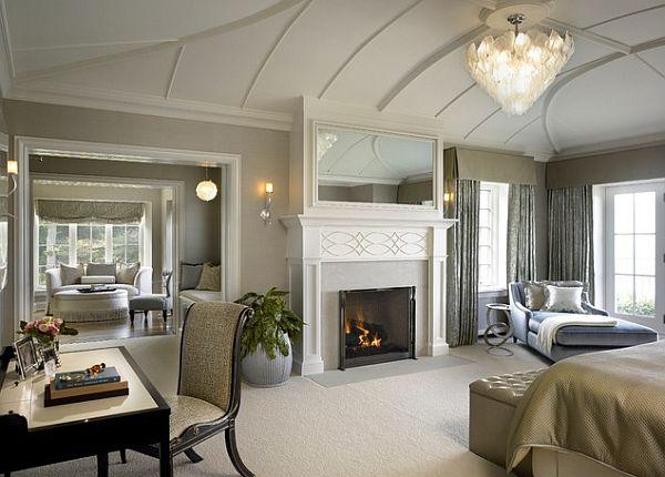 elegante dormitorio loung