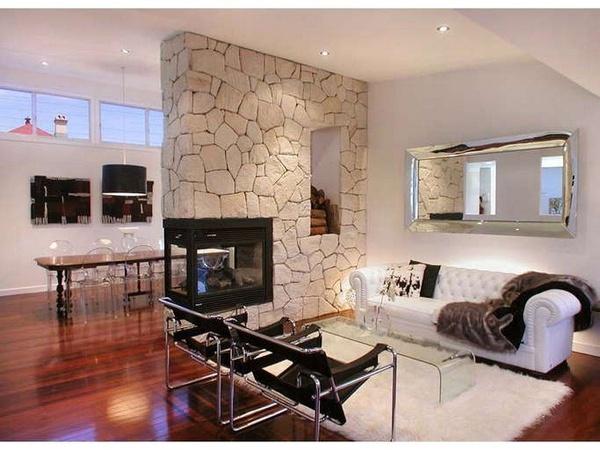elegante salon estilo lounge