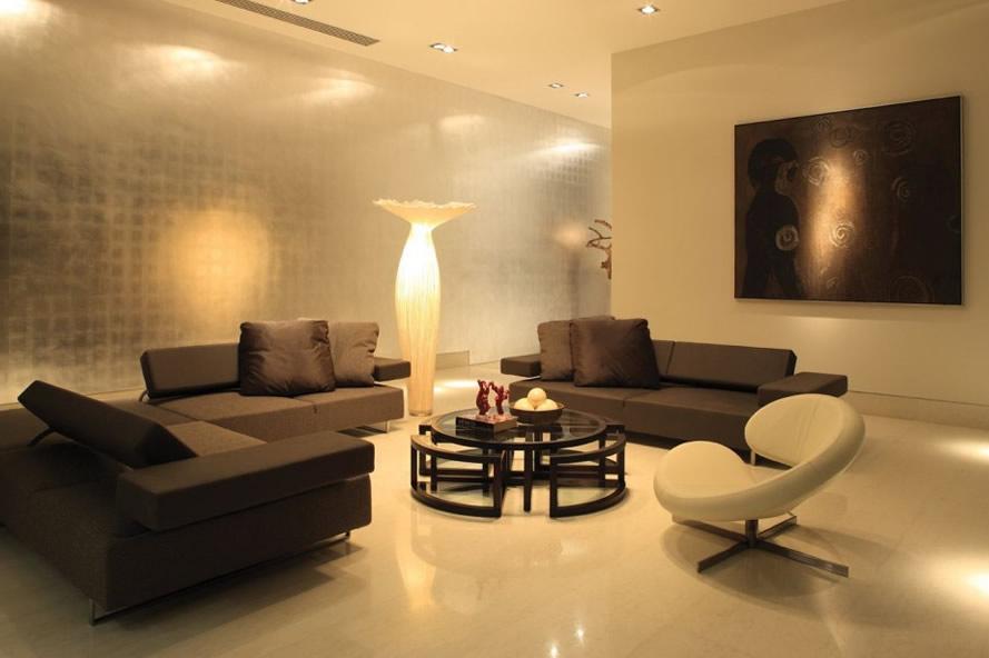 iluminacion estilo lounge salon