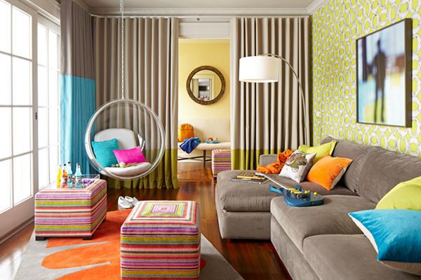 juvenil estilo lounge salas de estar