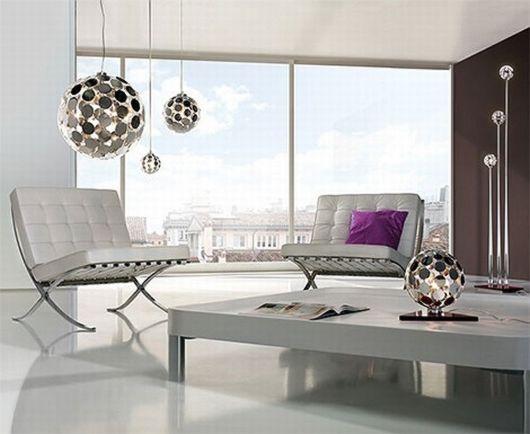 Luminosidad y diseño en lámparas de salón