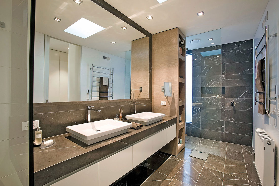 Baños Modernos De Marmol:Marble Bathroom Design Ideas