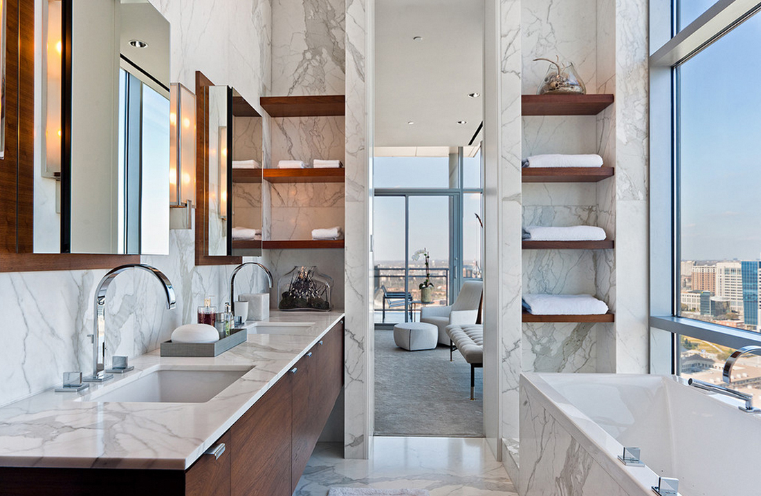Regadera De Baño Casera:Marble Bathroom Ideas
