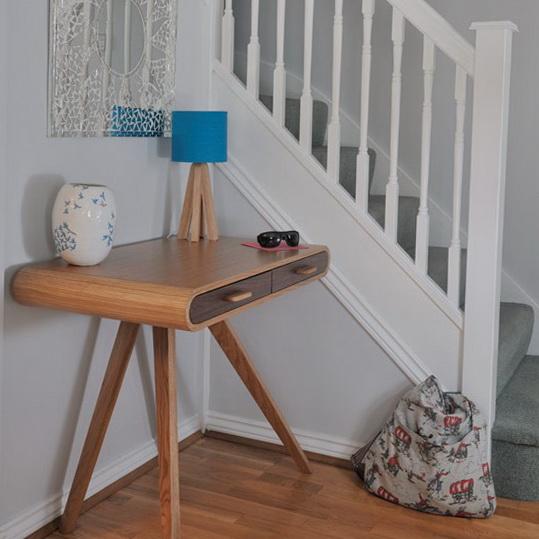 mueble sencillo entrada pequeña