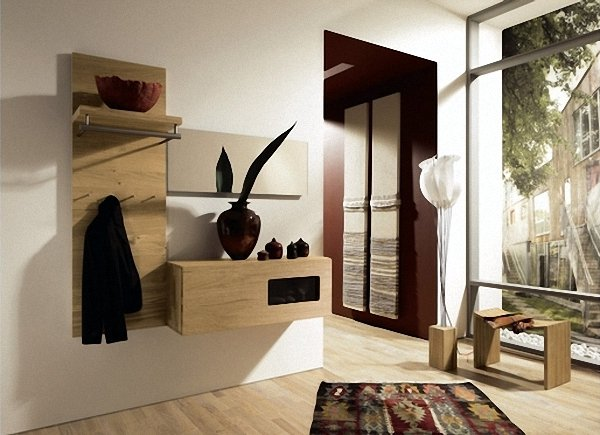 muebles pequeños recibidores modernos