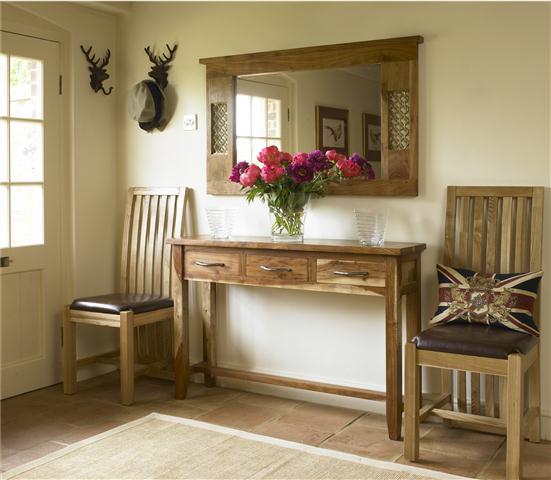 muebles recibidor decoracion