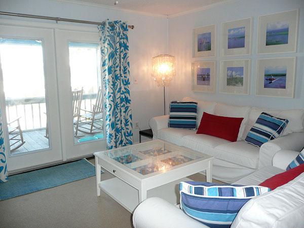 sala de estar marinera estilo lounge