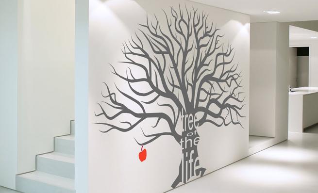 vinilos para pasillos y recibidores