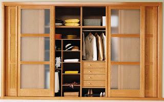 Armarios empotrados o vestidor c al eliges hoy lowcost - Como forrar un armario por dentro ...