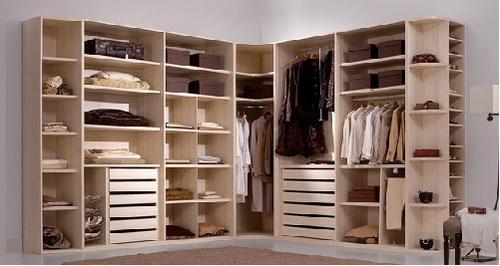 Los armarios empotrados o el vestidor hoy lowcost - Armario en l ...