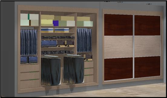 Los armarios empotrados o el vestidor hoy lowcost - Diseno de armarios online ...