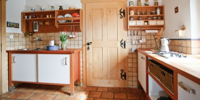 Cocina funcional estilo rustico hoy lowcost for Cocinas estilo rustico