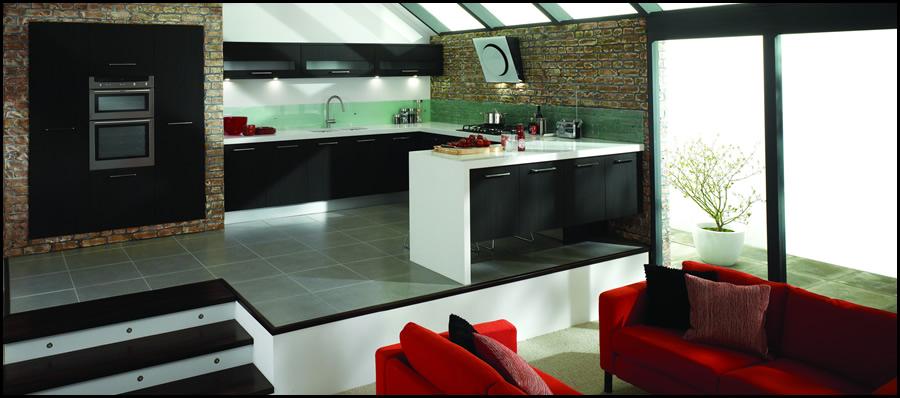 cocina integrada moderna