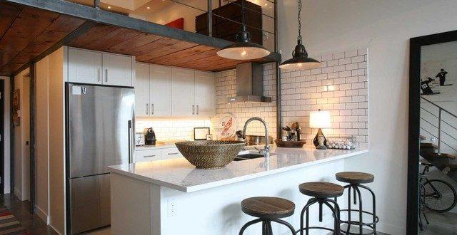 Cocina loft moderno industrial hoy lowcost for Cocina industrial tipo loft