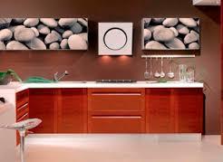 cocinas sencillas con vinilos decorativos
