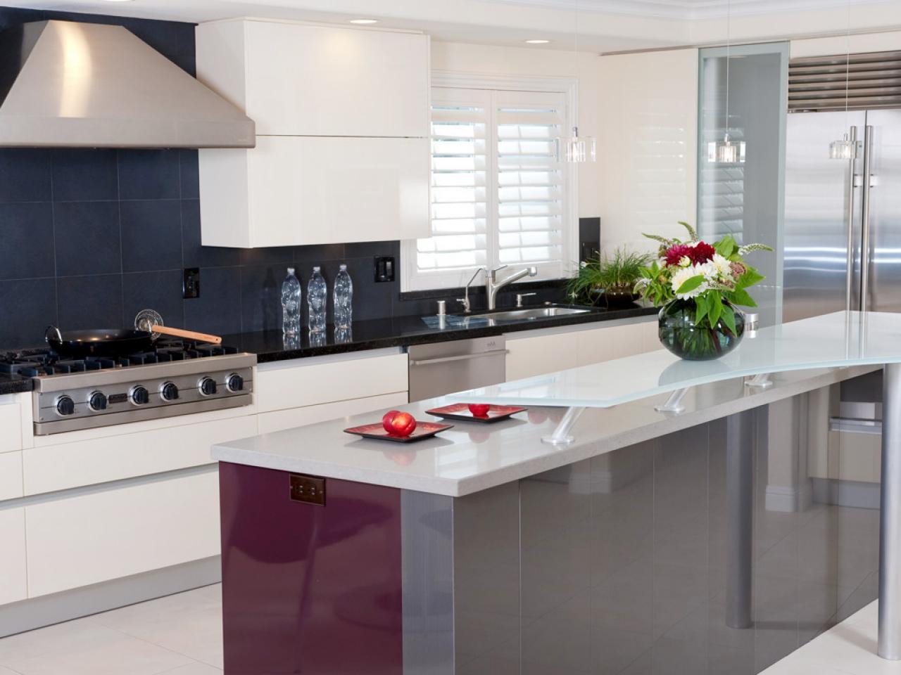 combinacion color cocinas modernas