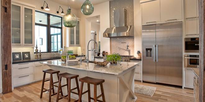 Combinaci n estilos en cocina moderna hoy lowcost - Estilos de cocinas ...