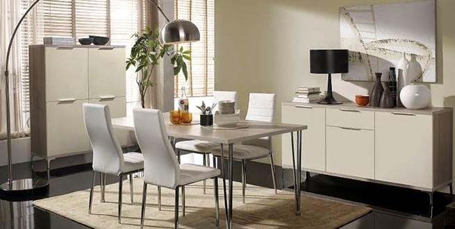 Comedores modernos y elegantes hoy lowcost for Comedores rectangulares modernos