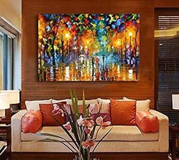 cuadros pintados a mano amazon hoy lowcost On cuadros pintados a mano para dormitorios