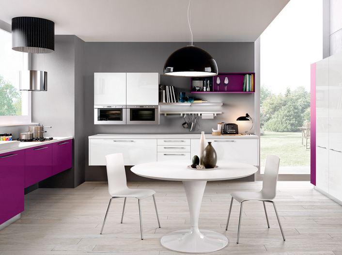 diseño colores cocinas modernas