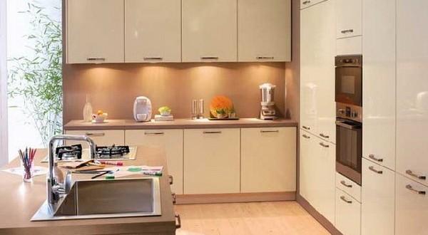 diseño minimalista cocina pequeña | Hoy LowCost