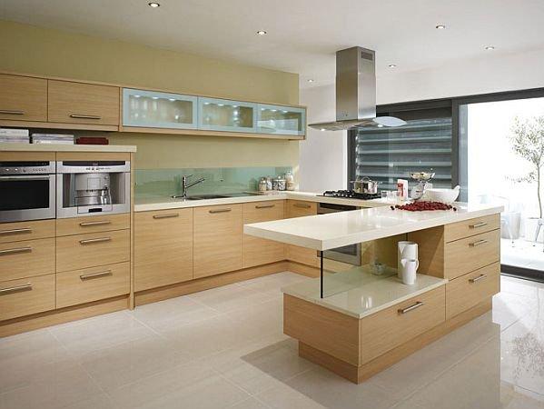 Elegante dise o cocina funcional hoy lowcost - Decoracion de suelos interiores ...