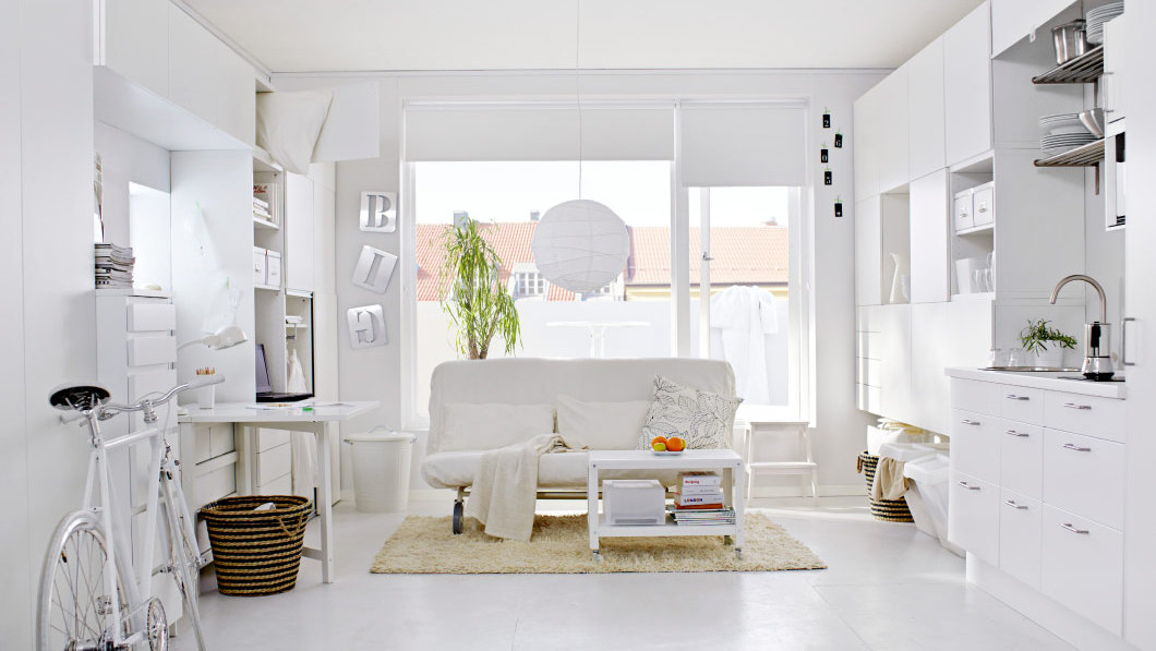 loft decoracion en blanco