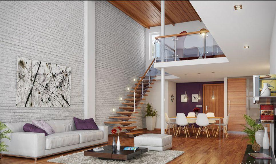 Decoracion loft funcional y moderna en pocos metros hoy for Decoracion de viviendas modernas