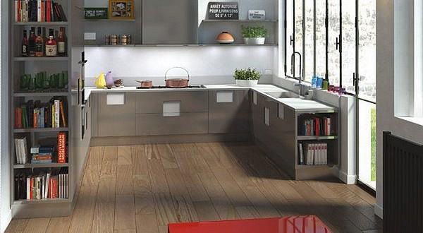 Sencilla cocina moderna 2015 hoy lowcost for Cocinas modernas 2015