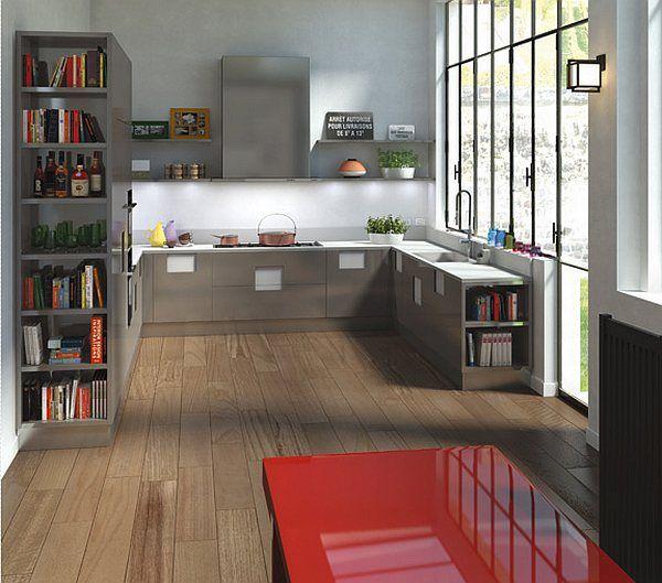 sencilla cocina moderna 2015
