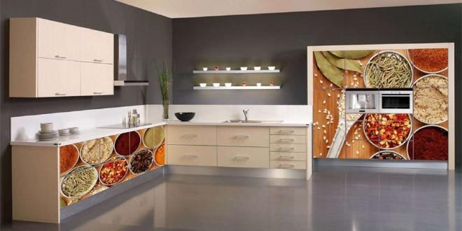 Vinilos decorativos cocinas modernas hoy lowcost for Decoracion de cocinas modernas fotos