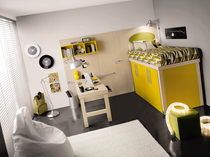 Como decorar las habitaciones juveniles pequeÑas. 10 buenas ideas ...
