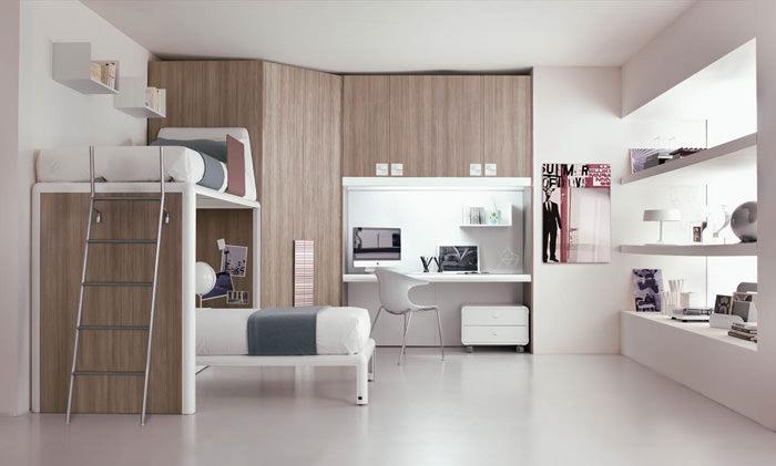 conjunto dormitorio juvenil moderno