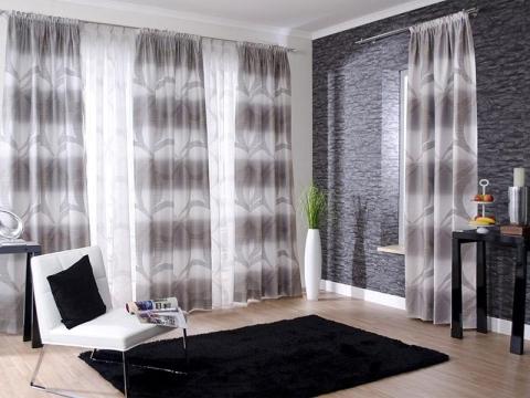 Novedades en dise o de cortinas 2018 hoy lowcost - Cortinas de salon modernas ...