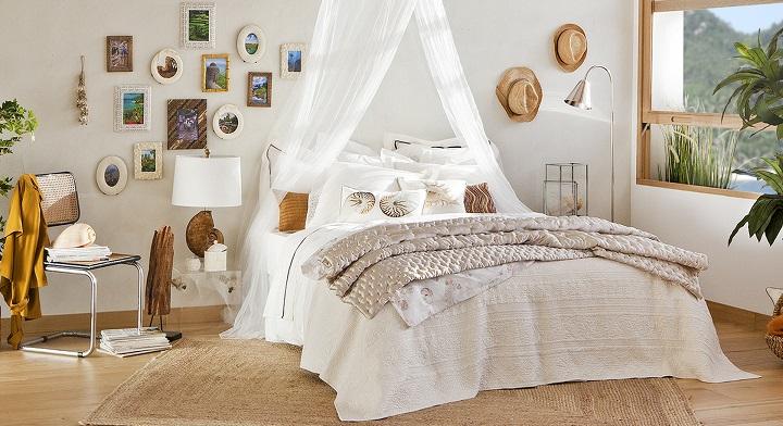 Diseño dormitorio en blanco